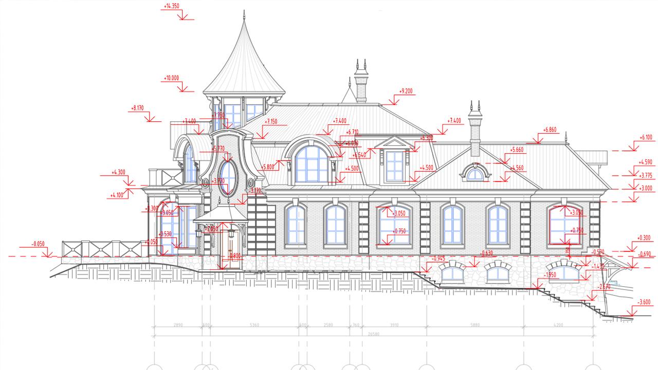 Инженерный проект частного дома