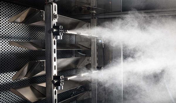 Эффективность систем форсуночного увлажнения воздуха